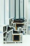 Frame de indicador plástico Fotografia de Stock