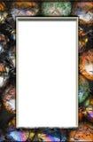 Frame de mármore Fotografia de Stock Royalty Free