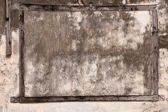 Frame de madeira imagem de stock
