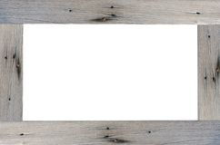 Frame de madeira Fotografia de Stock