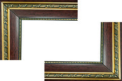 Frame de madeira. imagens de stock