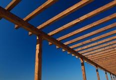 Frame de madeira Fotos de Stock