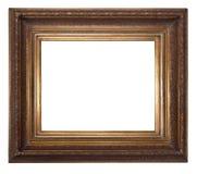 Frame de madeira antigo foto de stock royalty free