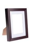 Frame de madeira da foto Fotografia de Stock Royalty Free
