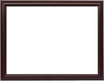 Frame de madeira de Brown Imagens de Stock