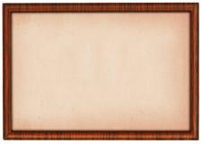 Frame de madeira do tamanho de XXL ilustração stock