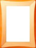 Frame de madeira do teste padrão fotografia de stock royalty free
