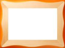 Frame de madeira do teste padrão fotos de stock royalty free