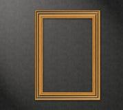 Frame de madeira em uma parede - alta resolução Fotos de Stock Royalty Free