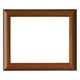 Frame de madeira vazio Foto de Stock Royalty Free