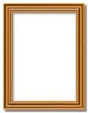 Frame de madeira vazio Fotos de Stock