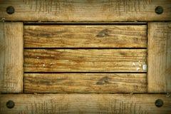 Frame de madeira velho Foto de Stock Royalty Free