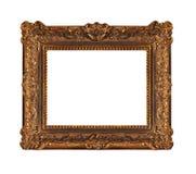Frame de madeira velho bonito foto de stock