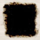 Frame de papel queimado ilustração do vetor
