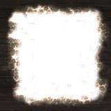 Frame de papel queimado ilustração stock
