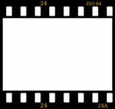 frame de película da corrediça de cor de 35mm Fotografia de Stock
