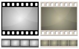 Frame de película da foto ilustração royalty free