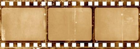 Frame de película de Grunge Fotos de Stock