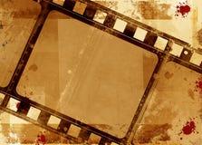 Frame de película de Grunge Fotografia de Stock Royalty Free