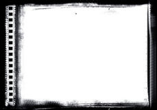 Frame de película de Grunge Foto de Stock