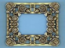Frame de prata imagem de stock royalty free