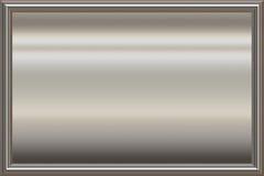 frame de prata da concessão do metal Fotografia de Stock Royalty Free