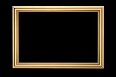frame de retrato 3D feito do cobre Fotografia de Stock