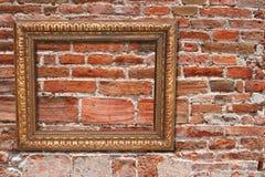 Frame de retrato antigo Imagens de Stock Royalty Free