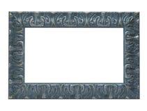 Frame de retrato azul Fotos de Stock