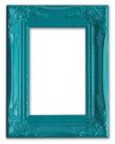 Frame de retrato azul Foto de Stock