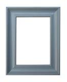 Frame de retrato ciano Foto de Stock Royalty Free