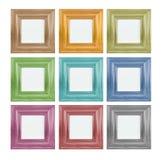 Frame de retrato colorido Fotos de Stock Royalty Free