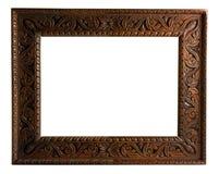 Frame de retrato com trajeto de grampeamento Fotografia de Stock
