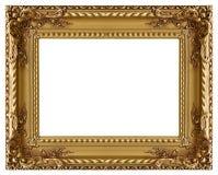 Frame de retrato com um teste padrão decorativo Imagem de Stock