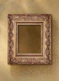 Frame de retrato com um teste padrão decorativo Foto de Stock