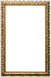Frame de retrato, cor dourada (No#11) Fotos de Stock