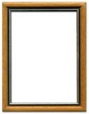 Frame de retrato de Brown e de prata Fotografia de Stock Royalty Free
