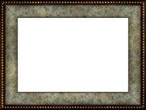 Frame de retrato de mármore rústico antigo fotografia de stock
