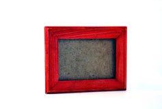 Frame de retrato de madeira Foto de Stock