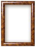Frame de retrato de madeira Imagens de Stock