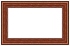 Frame de retrato de madeira 2 Foto de Stock