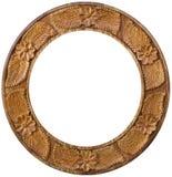 Frame de retrato de madeira imagens de stock royalty free