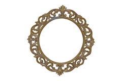 Frame de retrato de madeira Foto de Stock Royalty Free