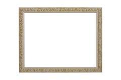 Frame de retrato de madeira Imagem de Stock Royalty Free