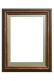 Frame de retrato de madeira Fotos de Stock