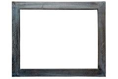 Frame de retrato de madeira antigo de Grunge foto de stock royalty free