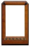 Frame de retrato de madeira do vintage Fotos de Stock