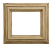 Frame de retrato de madeira manchado Foto de Stock