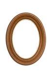 Frame de retrato de madeira natural Imagens de Stock Royalty Free