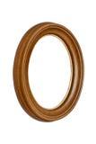 Frame de retrato de madeira natural Fotografia de Stock Royalty Free